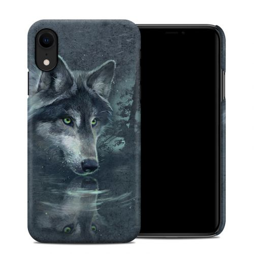 Wolf Reflection iPhone XR Clip Case