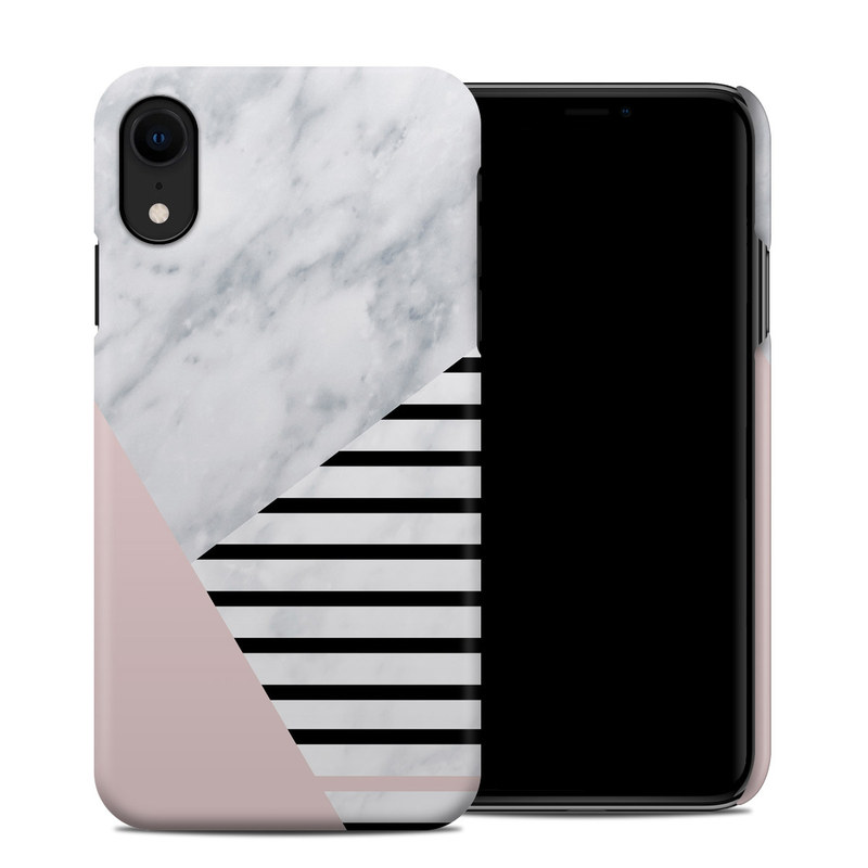 iPhone XR Clip Case design of White, Line, Architecture, Stairs, Parallel with gray, black, white, pink colors
