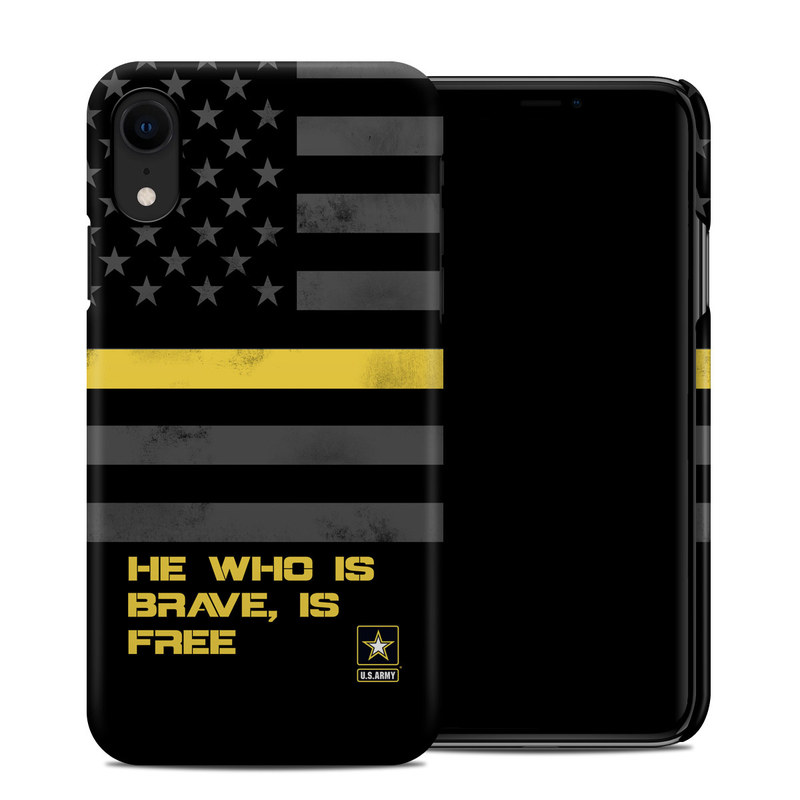Brave Is Free Iphone Xr Clip Case Istyles