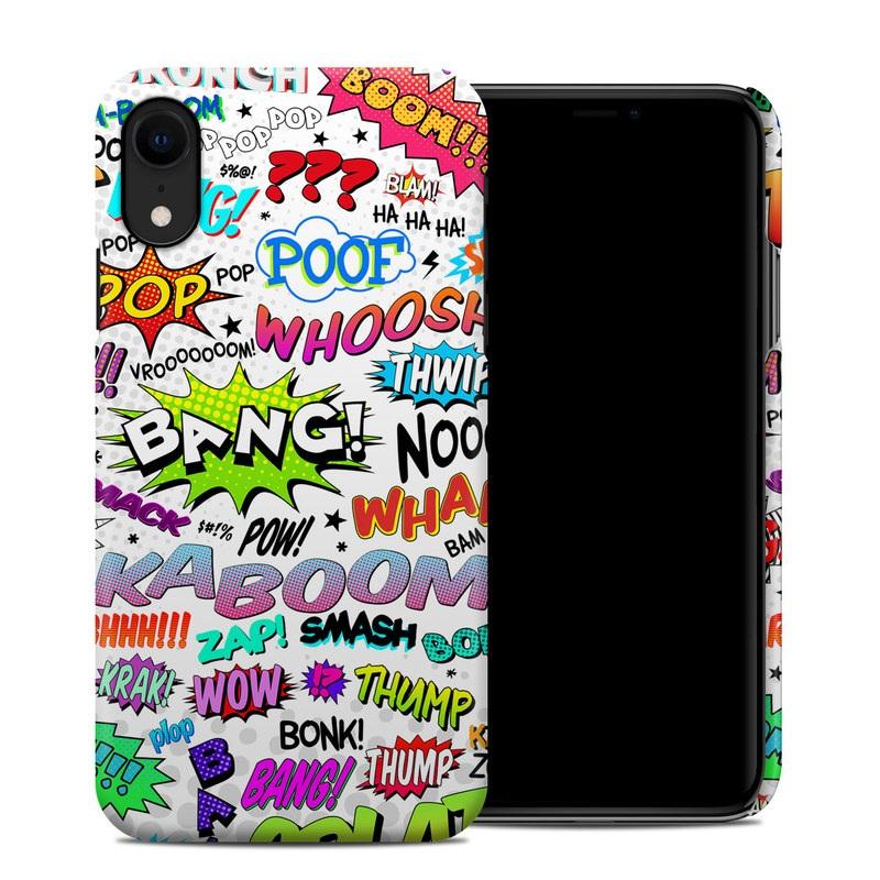 comic iphone xr case