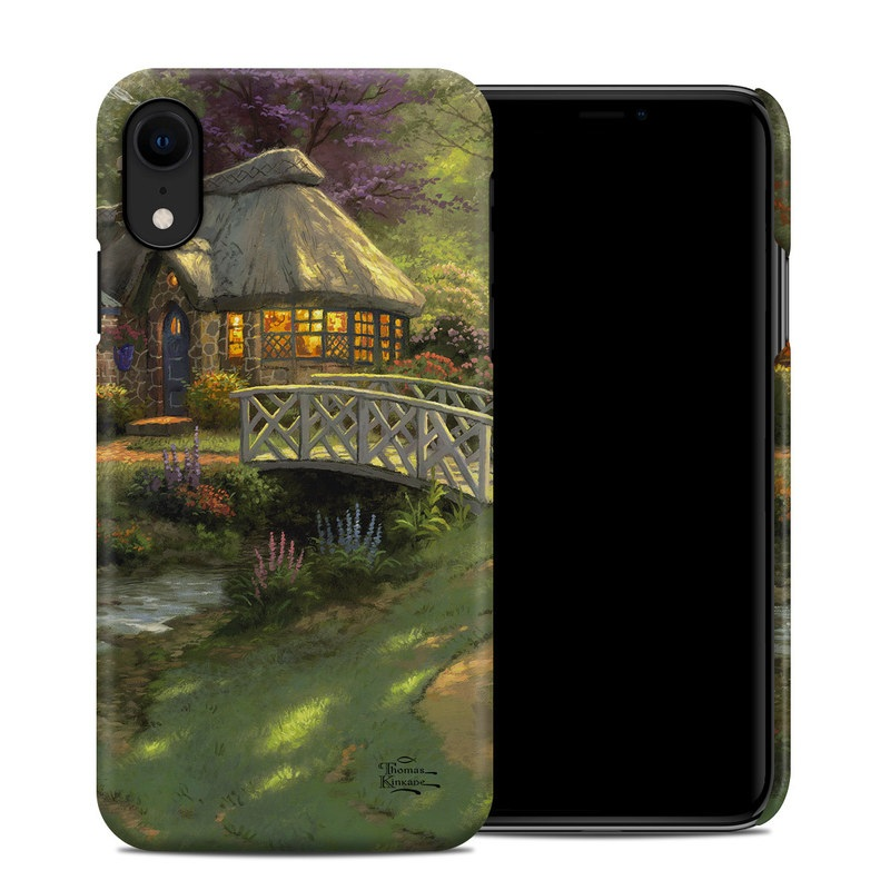iPhone XR Clip Case design of Natural landscape, Nature, Strategy video game, Painting, Landscape, Morning, Biome, Landscaping, Rural area, Tree with black, green, red, gray colors