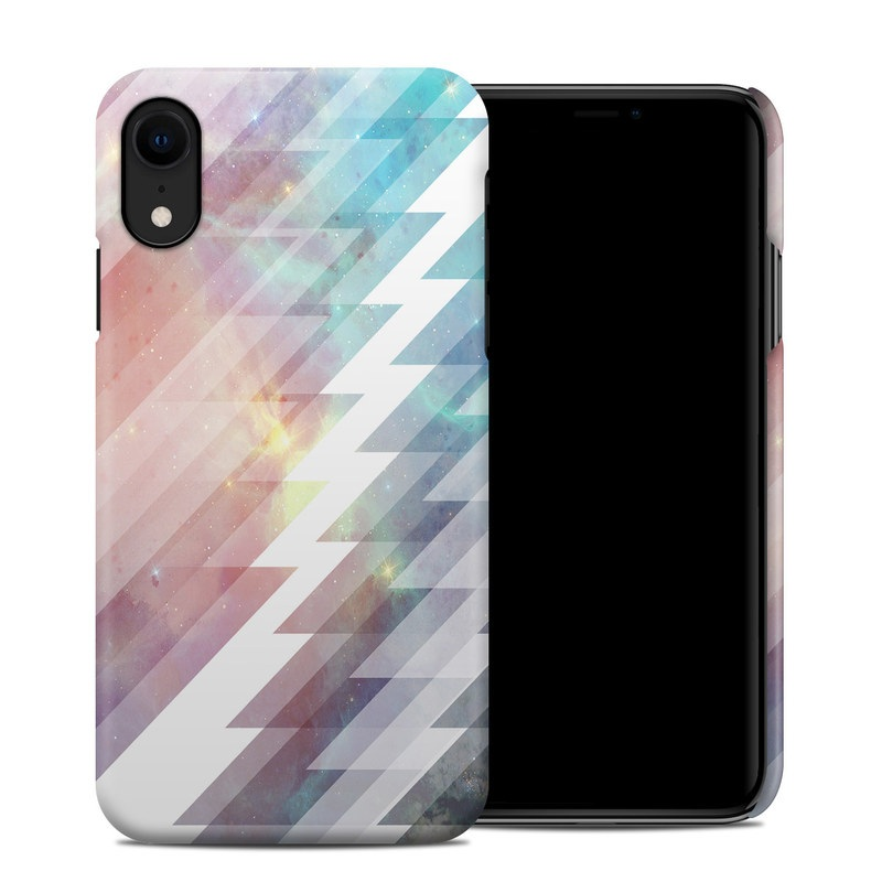 iPhone XR Clip Case design of Light, Line, Purple, Pink, Sky, Design, Pattern, Graphic design, Graphics, Tints and shades with white, red, blue, orange, yellow colors