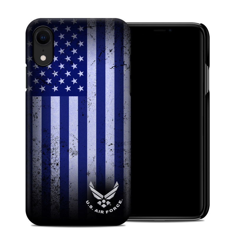 iPhone XR Clip Case design of Text, Font, Design, Pattern, Flag, Graphic design, Logo, Graphics, Illustration with black, gray, blue, purple colors