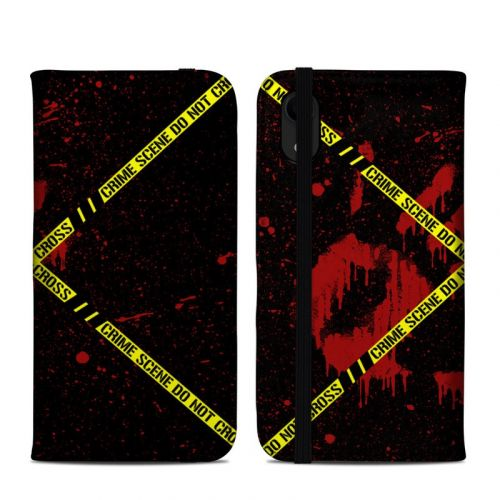 Crime Scene iPhone XR Folio Case