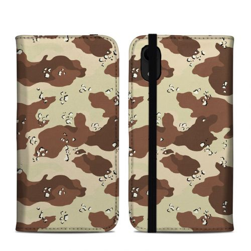 Desert Camo iPhone XR Folio Case