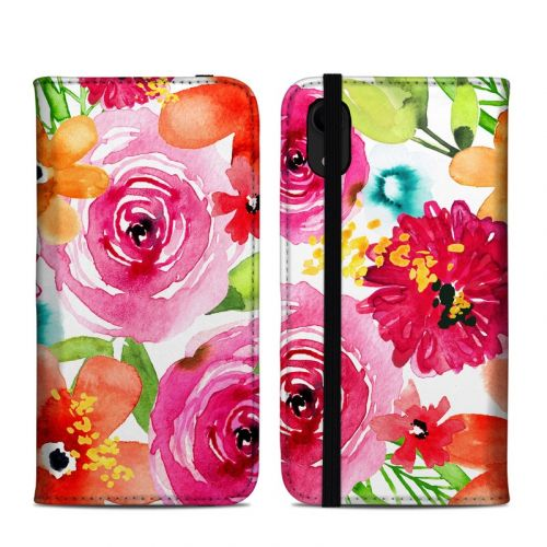 Floral Pop iPhone XR Folio Case