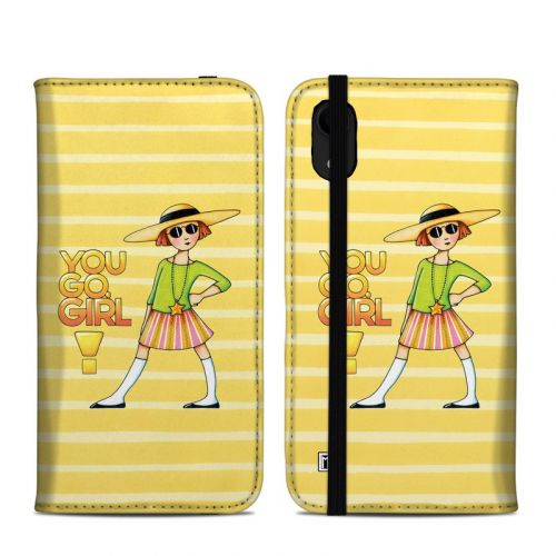You Go Girl iPhone XR Folio Case