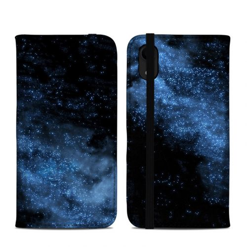 Milky Way iPhone XR Folio Case