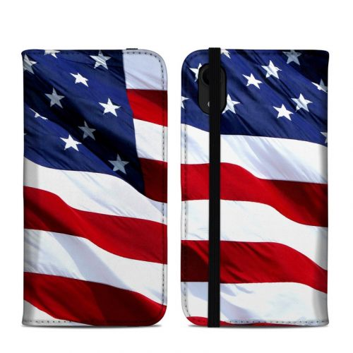 Patriotic iPhone XR Folio Case