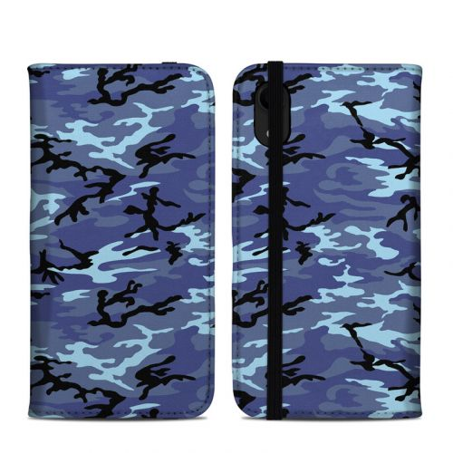 Sky Camo iPhone XR Folio Case
