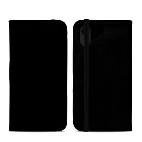 Solid State Black iPhone XR Folio Case