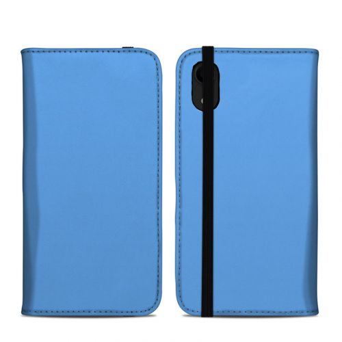 Solid State Blue iPhone XR Folio Case