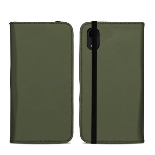 Solid State Olive Drab iPhone XR Folio Case