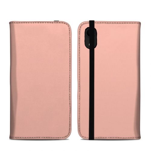 Solid State Peach iPhone XR Folio Case