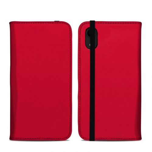 Solid State Red iPhone XR Folio Case