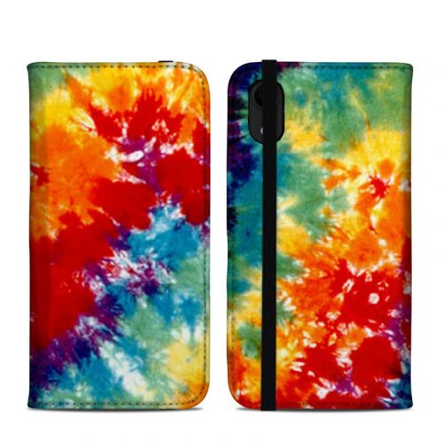 Tie Dyed iPhone XR Folio Case