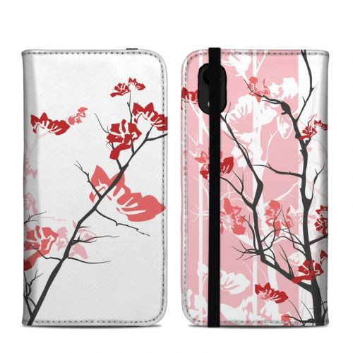 Pink Tranquility iPhone XR Folio Case