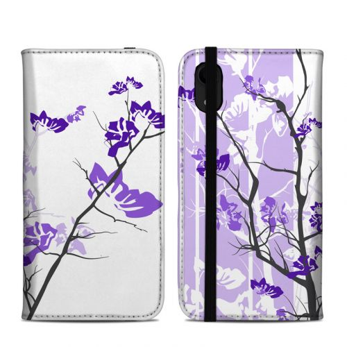 Violet Tranquility iPhone XR Folio Case