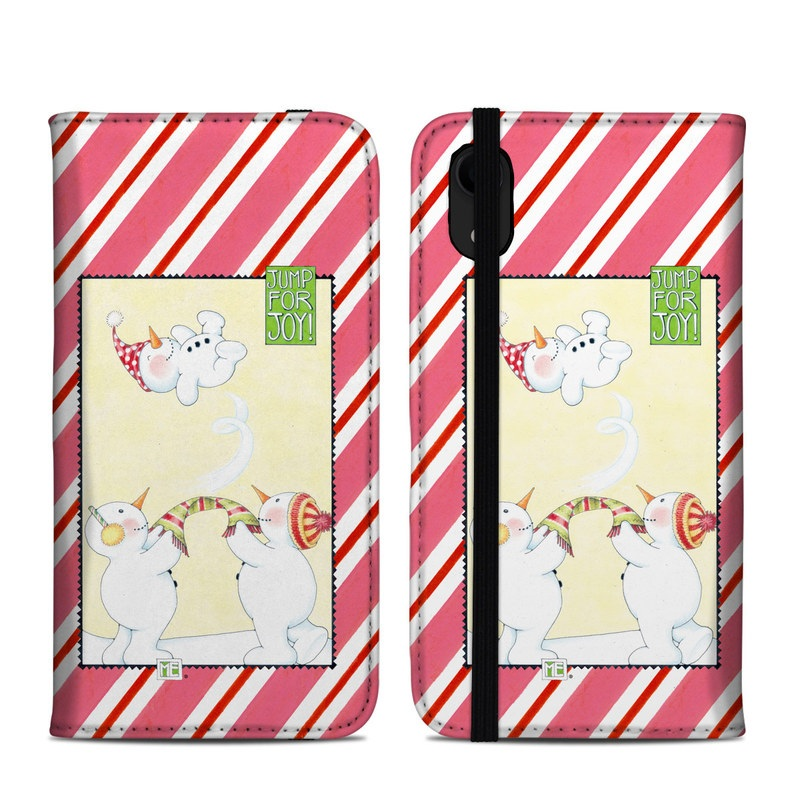 iPhone XR Folio Case design of Wrapping paper, Paper product, Clip art, Greeting card with white, yellow, pink, purple, gray colors