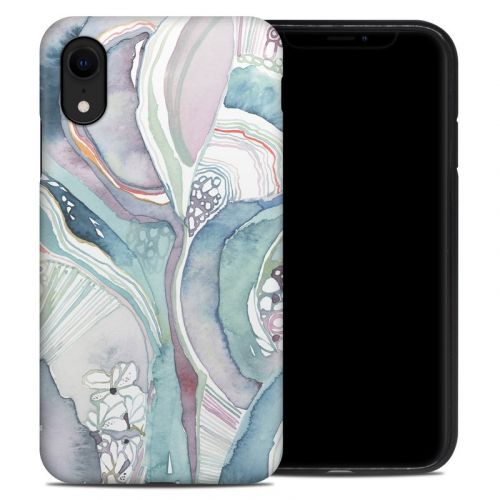 Abstract Organic iPhone XR Hybrid Case