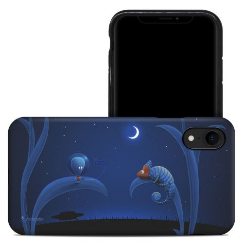 Alien and Chameleon iPhone XR Hybrid Case