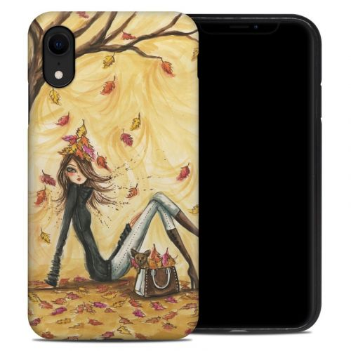 Autumn Leaves iPhone XR Hybrid Case