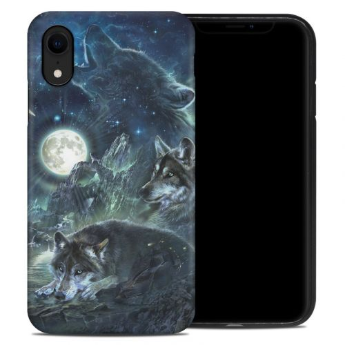 Bark At The Moon iPhone XR Hybrid Case