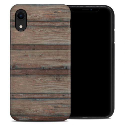 Boardwalk Wood iPhone XR Hybrid Case