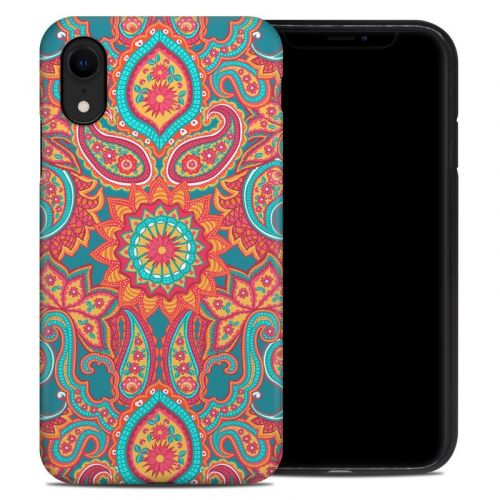 Carnival Paisley iPhone XR Hybrid Case