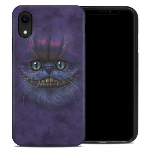 Cheshire Grin iPhone XR Hybrid Case