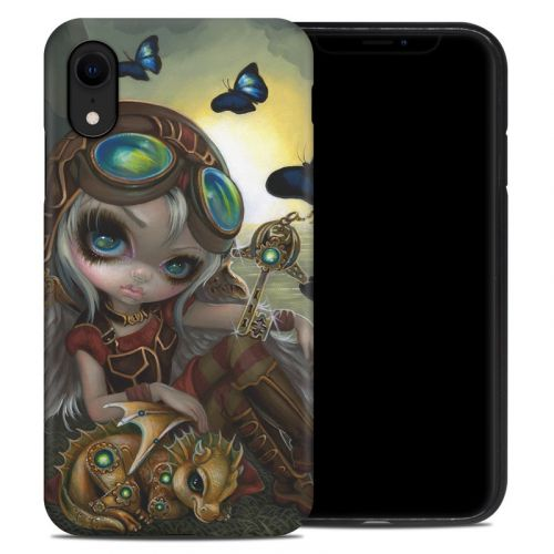 Clockwork Dragonling iPhone XR Hybrid Case