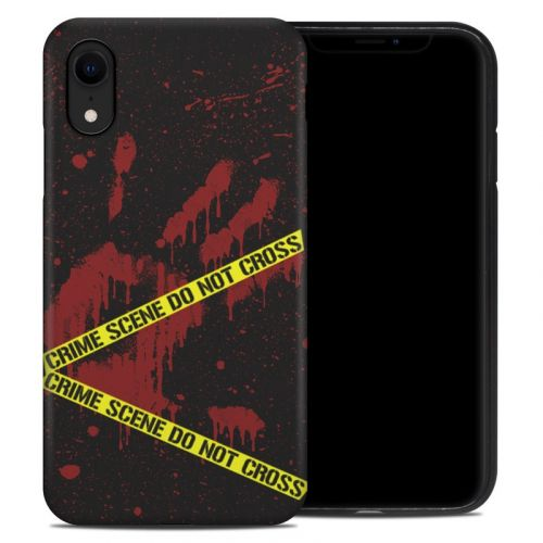 Crime Scene iPhone XR Hybrid Case