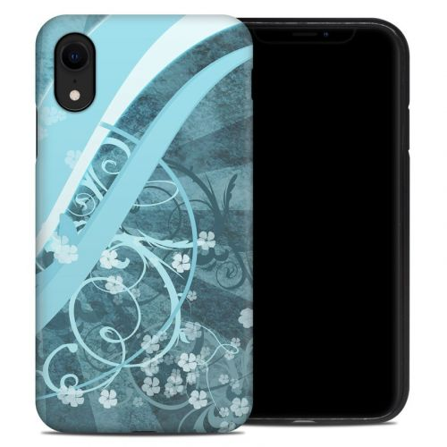 Flores Agua iPhone XR Hybrid Case
