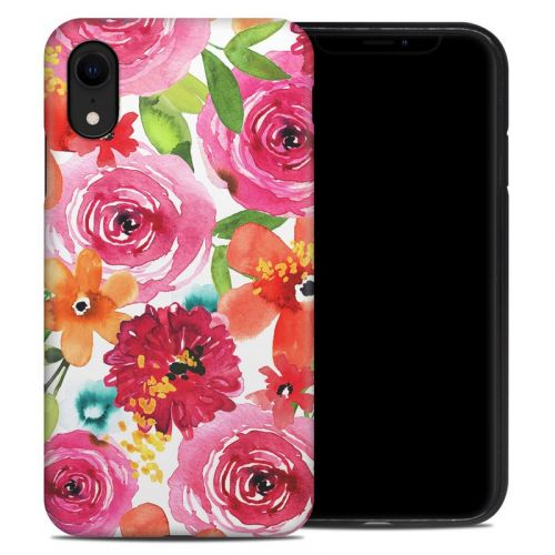 Floral Pop iPhone XR Hybrid Case