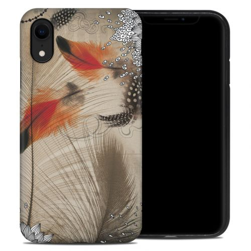 Feather Dance iPhone XR Hybrid Case