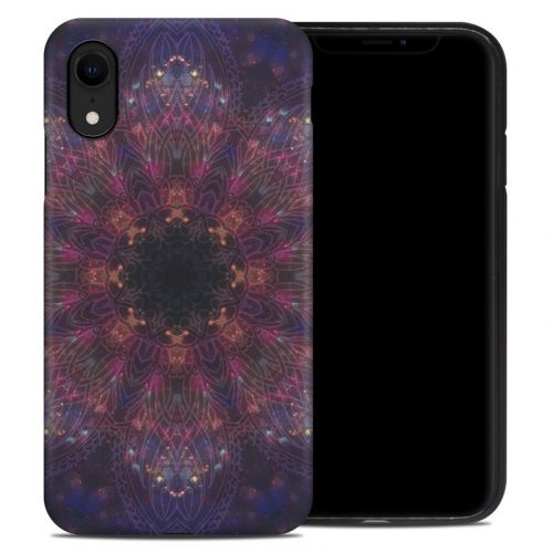 Galactic Mandala iPhone XR Hybrid Case