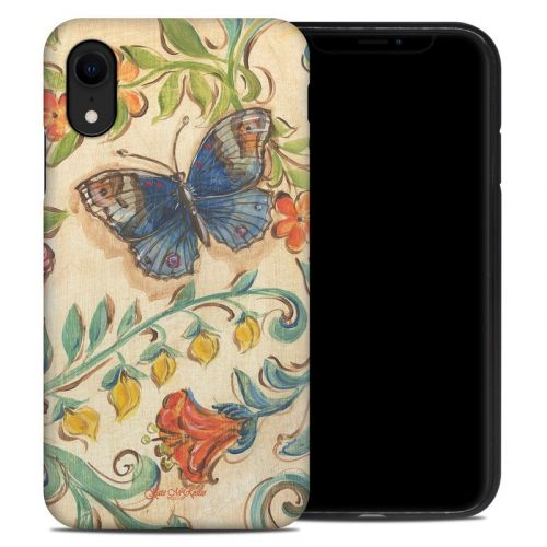 Garden Scroll iPhone XR Hybrid Case