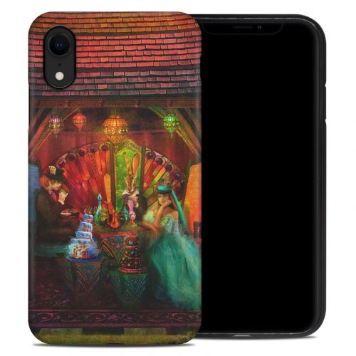 A Mad Tea Party iPhone XR Hybrid Case