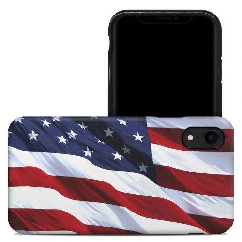 Patriotic iPhone XR Hybrid Case