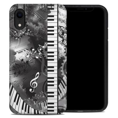 Piano Pizazz iPhone XR Hybrid Case