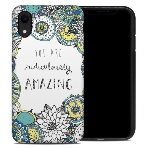 You Are Ridic iPhone XR Hybrid Case