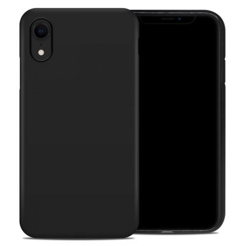 Solid State Black iPhone XR Hybrid Case