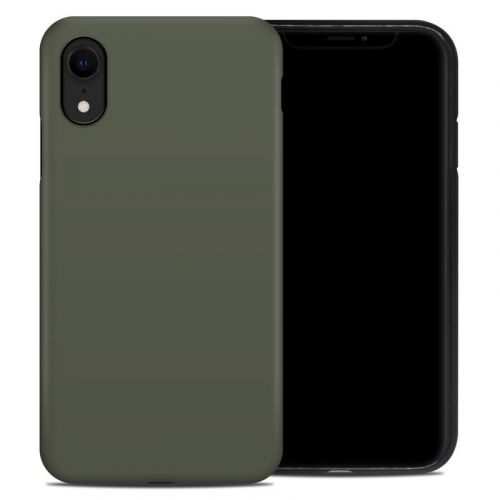 Solid State Olive Drab iPhone XR Hybrid Case