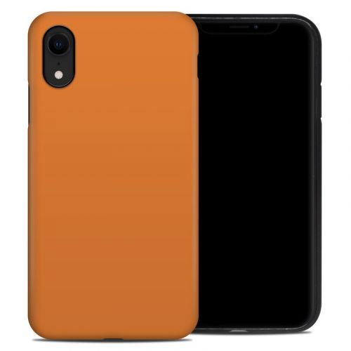 Solid State Orange iPhone XR Hybrid Case