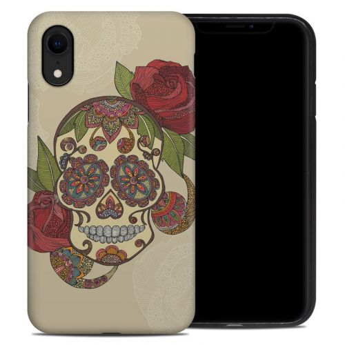 Sugar Skull iPhone XR Hybrid Case