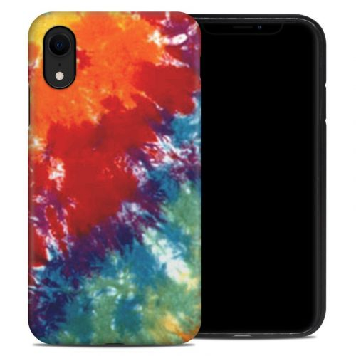 Tie Dyed iPhone XR Hybrid Case