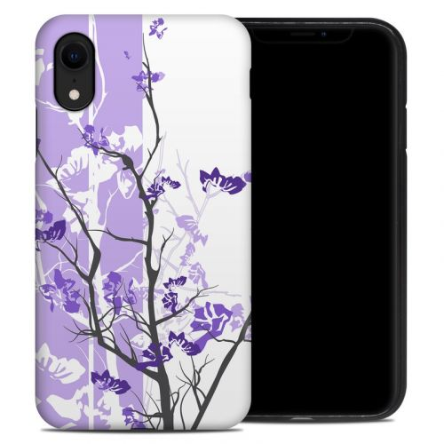 Violet Tranquility iPhone XR Hybrid Case