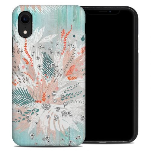 Tropical Fern iPhone XR Hybrid Case