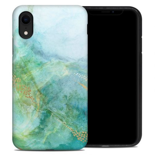 Winter Marble iPhone XR Hybrid Case