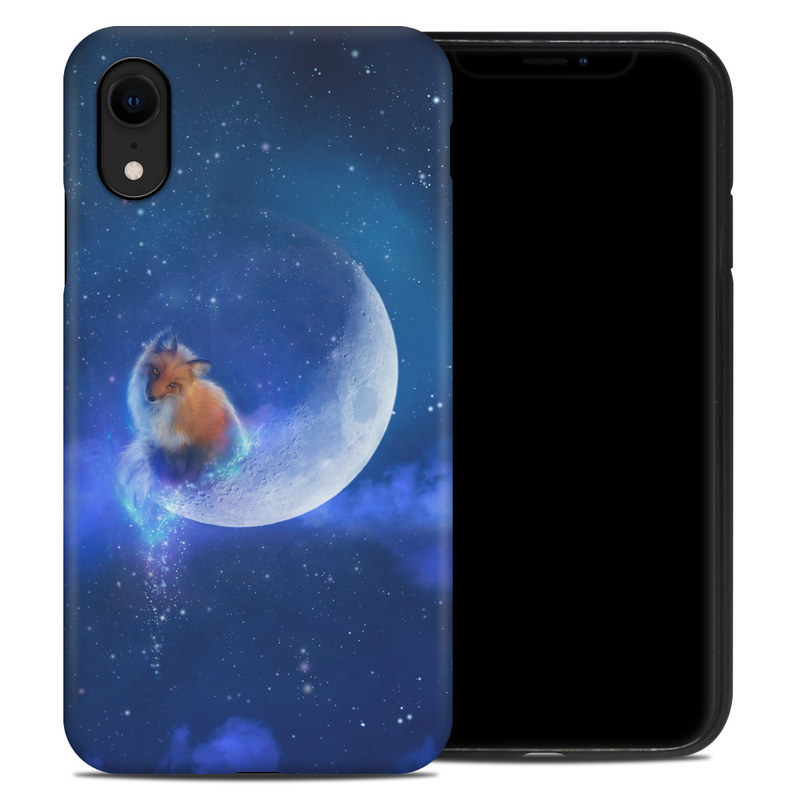 iPhone XR Hybrid Case design of Sky, Atmosphere, Astronomical object, Outer space, Space, Universe, Illustration, Nebula, Galaxy, Fictional character with blue, black, gray colors